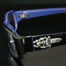 cs12 限定ダガーブラックフレーム 伊達メガネ眼鏡