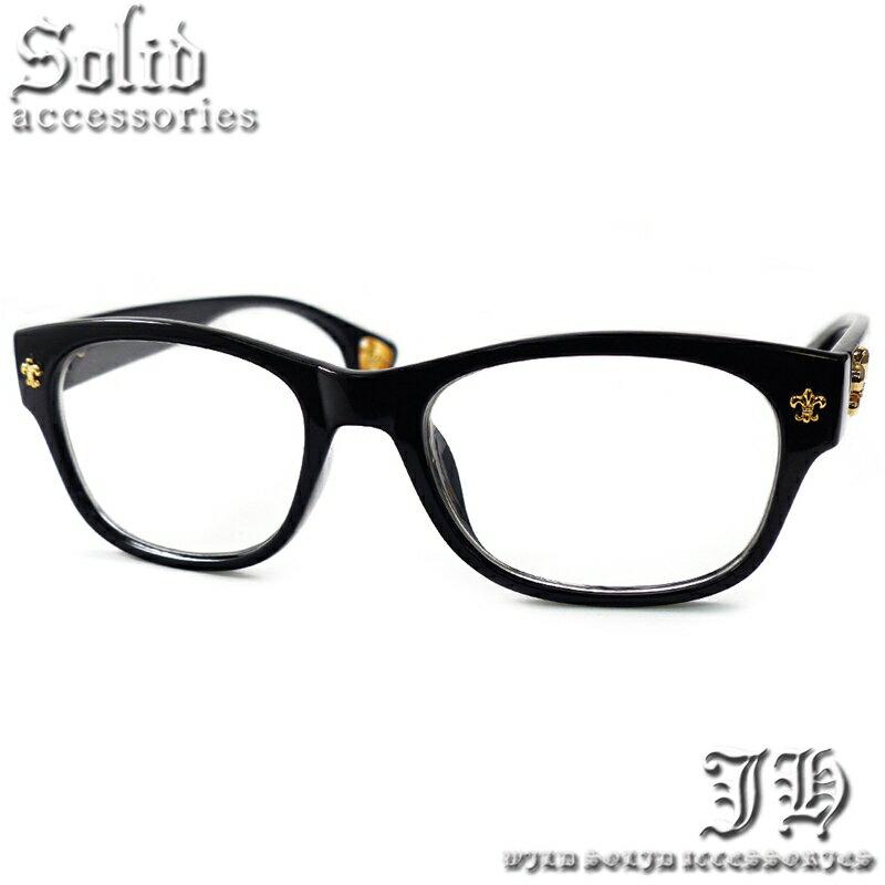 【あす楽 ・全10種】 伊達メガネ メンズ 黒 ブラック ゴールド cr クリアレンズ 黒縁 ウェリントン フレア 百合 伊達 メガネ だてめがね 伊達眼鏡 大きめ ビッグフレーム おしゃれ 【あす楽 】【cs164】[0068]