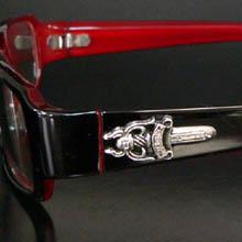 【cs25】ダガーサングラス レッド 赤 伊達メガネ 伊達めがね 伊達眼鏡【あす楽対応】】 小物 ブランド雑貨 眼鏡 サングラス サングラス プレゼント ギフト 通販 楽天