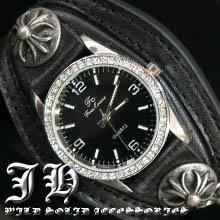 ct25 ブレスウォッチ腕時計 ブレスレットウォッチ メンズ ブレスレット 時計 かっこいい 男性 プレゼント フェイク レザー バングル ウォッチ 【あす楽対応】
