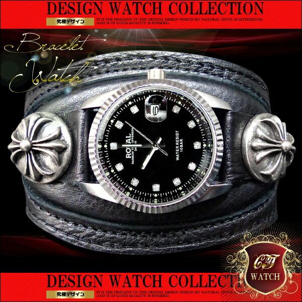ct12 ブレスウォッチお兄系クロムファンに必見 ブレス腕時計【あす楽 】 アクセone 腕時計 メンズ腕時計 通販 楽天