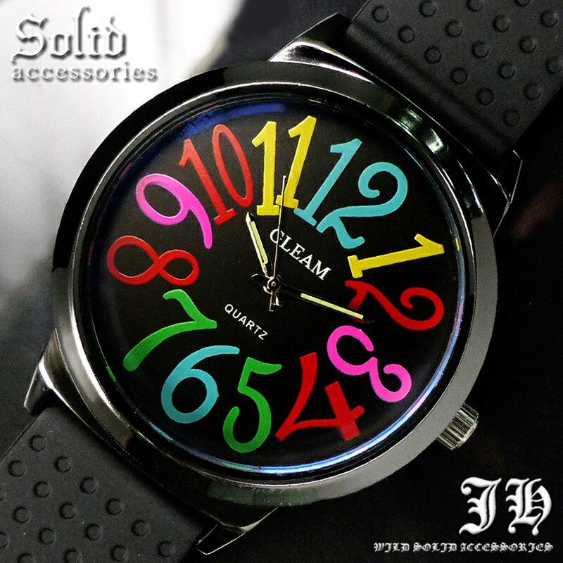 【tvs163】 送料無料 999円 ビッグフェイス超人気メンズ腕時計 スタイリッシュなデザイン 時計 メンズ カラフル かっこいい 時計 メンズ 生活 防水 【あす楽対応】