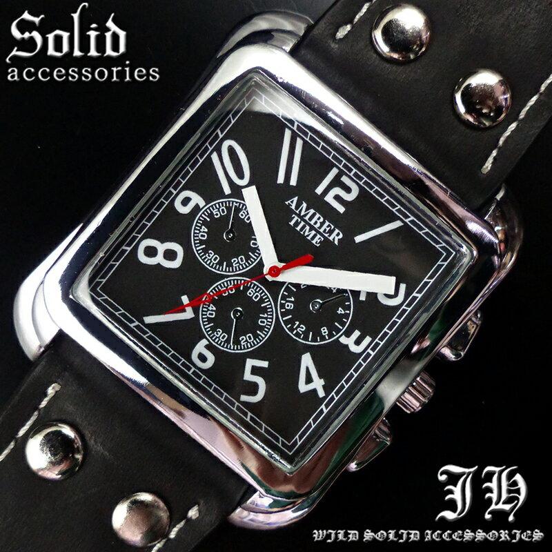 送料無料 腕時計 メンズ おしゃれ スクエア シンプル ブラック 黒 アナログ カラフル 時計【あす楽 】 メンズ 腕時計 アクセone 腕時計 メンズ 腕時計 通販 楽天 【tvs289】[0012]