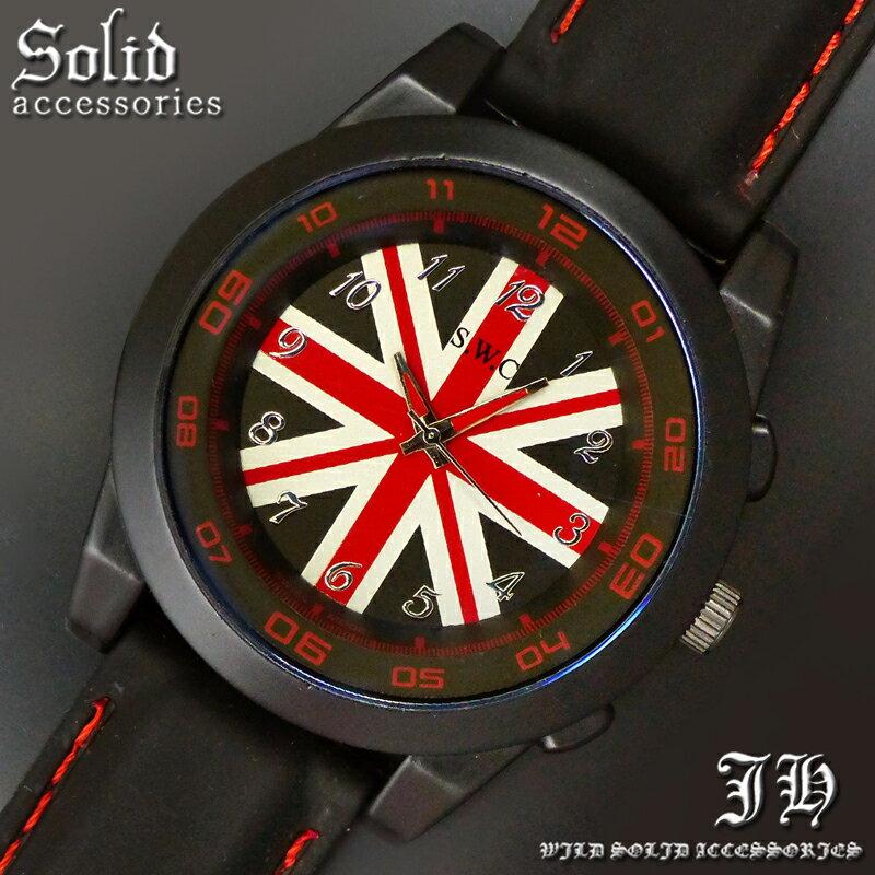 送料無料 腕時計 メンズ おしゃれ ユニオン レッド 赤 アナログ カラフル 時計【あす楽 】 メンズ 腕時計 アクセone 腕時計 メンズ 腕時計 通販 楽天 【tvs351】[0012]