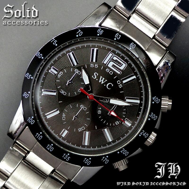 送料無料 腕時計 メンズ おしゃれ ラウンド ベゼル アナログ カラフル 時計【あす楽 】 メンズ 腕時計 アクセone 腕時計 メンズ 腕時計 通販 楽天 【tvs361】[0012]