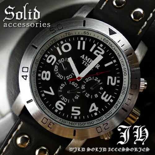 【tvs165】 送料無料 999円 ビッグフェイス超人気メンズ腕時計 スタイリッシュなデザイン 黒ブラック 生活 防水 【あす楽対応】