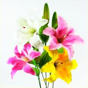 【造花・夏・仏花】カサブランカ / ゆり・ユリ・百合 | FF-2699 / FF2699