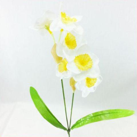 【造花・冬・春】スイセン×2 / ディスプレイ・素材   FS-5937 / FS5937