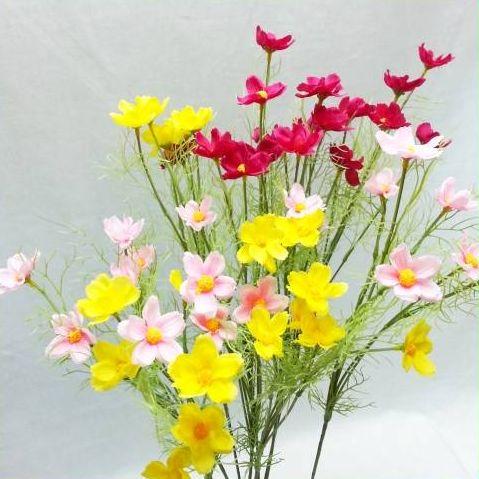 【造花・夏・秋】キバナコスモス / こすもす・秋桜 | FS-9918 / FS-9897 / FS-9861 / FS-9805