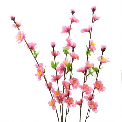 【造花・春】モモスプレー / もも モモ 桃 ひな祭り | 990222 / FS-5984 / FS-5231 / FS-5291