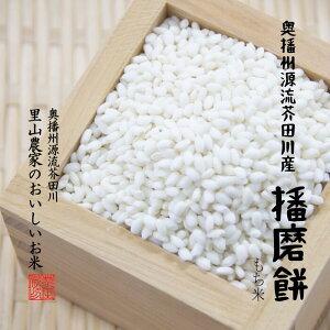 もち米 新餅 10kg 5kg×2 令和2年産 奥播州源流芥田川 播磨餅 はりまもち 【送料無料】 里山農家のおいしいお米
