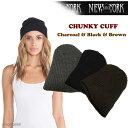 """ニット帽 レディース NEW YORK HAT 4648 ニューヨークハット """"CHUNKY CUFF"""" ベレー帽 レディース メンズ ユニセック…"""