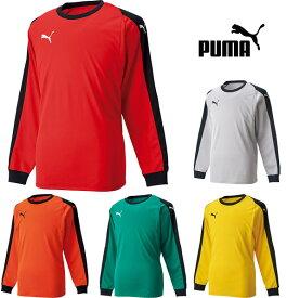 【ゴールキーパー】PUMA PUMA プーマ サッカー ジュニア 少年 ウェア GK トレーニング 上下セット セットアップ 729965 スクール 楽天プレミアム シャツ パンツ