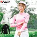 ゴルフウェア レディース ゴルフシャツ ロング袖 ロングシャツ 無地 白 ホワイト ブラック 黒 ピンク おしゃれ S M L …