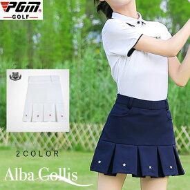 ジュニア ゴルフスカート レディース ゴルフスカート スカート 無地 白 ホワイト ネイビー 紺 M L XL おしゃれ M L ゴルフウェア 可愛い 女の子
