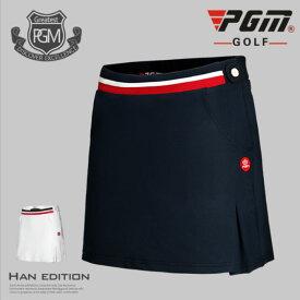 ゴルフウェア レディース ゴルフスカート スカート 無地 白 ホワイト ネイビー 紺 M L XL おしゃれ M L