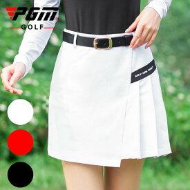 ゴルフウェア レディース ゴルフスカート スカート 無地 ホワイト レッド ブラック 白 赤 黒 M L XL おしゃれ 可愛い 綺麗 シンプル