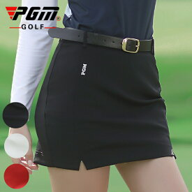 ゴルフスカート スリット 可愛い 黒 ブラック 白 ホワイト レッド 赤 ゴルフ レディース ゴルフウェア 女子ゴルフ レディス かわいい おしゃれ