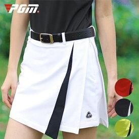 ゴルフウェア レディース スカート ゴルフスカート パンツ一体型 パンツ 無地 ホワイト 白 レッド 赤 黒 ブラック 黄緑 M L XL おしゃれ 可愛い 綺麗 シンプル