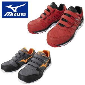 ミズノ MIZUNO 安全靴 作業靴 仕事靴 オールマイティ ALMIGHTY HW22L F1GA2001 軽量 建設 塗装 左官 土木 工業 土方 建築 トラック ドライバー