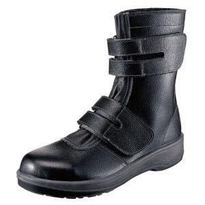 シモン Simon 安全靴 仕事靴 作業靴 国産安全靴 ブーツカット 7538 軽量 建設 塗装 左官 土木 工業 土方 建築 トラック ドライバー 仕事靴
