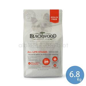 (取り寄せ)ブラックウッド サーモンミール&フィールドピー 6.8kg