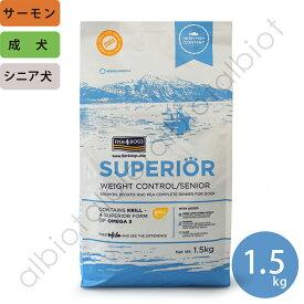 フィッシュ4ドッグ スーペリアウェイトコントロール 1.5kg