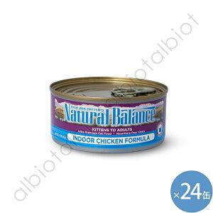 ナチュラルバランス 猫 インドアキャット 156g×24缶 キャット缶