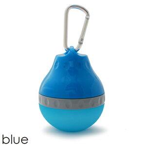 お散歩に便利な携帯用ドリンクボトルハンディウォータラー ブルー(メール便(ネコポス)発送NG)
