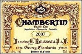 1978シャンベルタン Chambertin アルマン・ルソーArman Rousseau