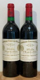 1982シュヴァルブランCh. Cheval Blanc