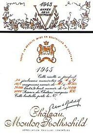 1945 シャトウムートンロートシルドMouton Rothschild