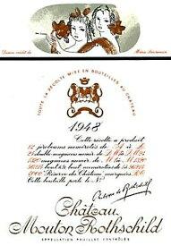 1954 シャトウムートンロートシルドMouton Rothschild