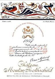 1957 シャトウムートンロートシルドMouton Rothschild
