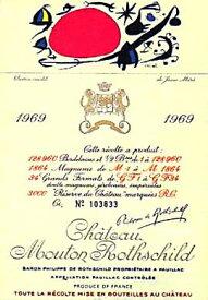 1969 シャトウムートンロートシルドMouton Rothschild