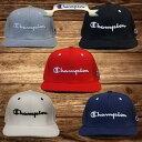 Champion チャンピオン ストレートキャップ 581-003A メンズ レディース ベースボールキャップ 帽子 送料無料