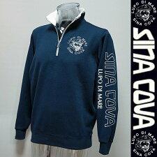 シナコバ・18秋冬AW新作・WフェイスZIPUPトレーナー(M)(L)(LL)18290180-290