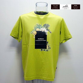 (SALE)オロビアンコ・19 春夏 SS 新作・リゾートプリント 半袖Tシャツ(L)(LL)43170-108-42 orobianco