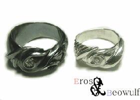 ペアリング シルバー 刻印無料 Chaos&Eden FISS-T118 (FISS-MSD) 指輪 ペア アクセサリー デザインリング プレゼント 彼女 彼氏 カップル ユニーク ジュエリー シンプル 個性的 お揃い 記念日 誕生日 ペアルック 送料無料