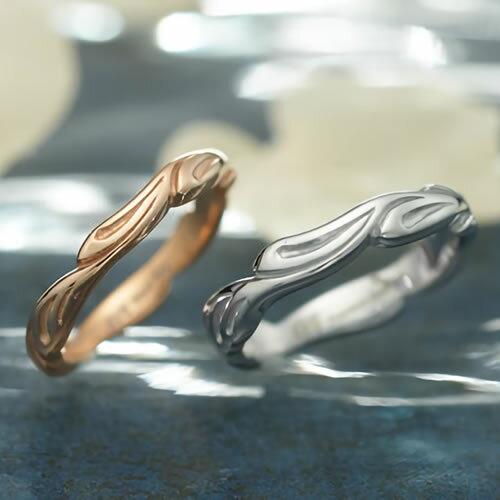 ペアリング ステンレス EVE GRSD35ROGD-35SVWH ブランド ダイヤモンド 7号 9号 11号 13号 15号 17号 19号 21号 アレルギーフリー 金属 サージカルステンレス316L 指輪 カップル お揃い プレゼント ペア プレゼント 誕生日 asrk 送料無料 銀婚式 指輪