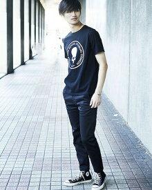 NUMBER (N)INE(ナンバーナイン)×Dickies(ディッキーズ) プロスタイリスト石黒亮一氏セレクションセット 半袖 ブラック スカル メンズTシャツ カジュアルファッション 上下セット