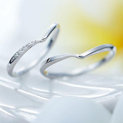 結婚指輪 マリッジリング プラチナ ペアリング PT950 Vライン Ange 95011-22-4234-pt 刻印無料 偶数号 対応 Vライン シンプル ペア 指輪 プレゼント 彼氏 彼女 プロポーズ ジュエリー 婚約 結婚記念 記念日 結婚式マリキャン 送料無料 2本セット 父の日ギフト