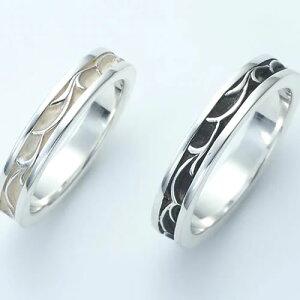 ペアリング 指輪 ブランド AQUA Silver アクアシルバー ASR-064F-064 ペア指輪 ピンキーリング 7号 9号 11号 13号 15号 17号 19号 21号 カップル ペア お揃い ペアルック 誕生日 記念日 プレゼント ギフト