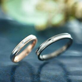 ペアリング ステンレス ブランド EVE GRSD133-GRSD134 ダイヤモンド 刻印 金属アレルギーフリー 指輪 サージカルステンレス316L 7号 9号 11号 13号 15号 17号 19号 21号 ペア カップル ペアルック 誕生日 マリッジリング asrk 送料無料 銀婚式 結婚指輪
