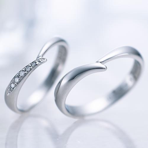 結婚指輪 プラチナ ペア セミオーダーメイド PT950-027R-KS(SU) 1号〜30号 カラーダイヤ マリッジリング 刻印無料 偶数号 ハーフサイズ 指輪 婚約 プロポーズ 入籍記念 カップル お揃い ペアルック 記念日 誕生日 プレゼント 結婚記念 送料無料 6月 7月 父の日ギフト