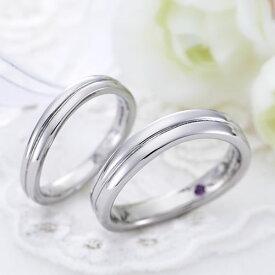 結婚指輪 ステンレス ペアリング 刻印無料 選べる誕生石 1号2号3号4号〜30号対応 ST107R-KS 偶数号 金属アレルギーフリー セミオーダーメイド サージカルステンレス316L ペア 指輪 ピンキー マリッジリング ペアルック カップル プレゼント 誕生日 記念日 送料無料 6月 7月