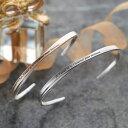 ペアバングル シルバー925 ブランド SVA13-015-016 close to me ブルーダイヤモンド クロストゥミー ペアバングル ダ…