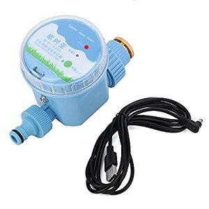 Qiilu 散水タイマー 自動水やり タイマー 自動式 Wi-Fi連結コントロール 電子制御タイマー USBケーブル付き 灌漑・水やり・芝生・鉢植え・家庭園芸に適用 インテリジェント灌漑タイマー