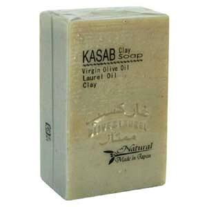 カサブクレイ石鹸  【アレッポの石鹸職人からの贈り物 無添加 アレッポ石鹸】