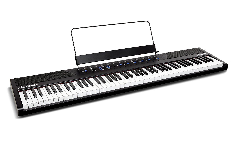 【公式 / 送料無料】Alesis 88鍵 初心者 向け 電子ピアノ フルサイズ・セミウェイト鍵盤 Recital